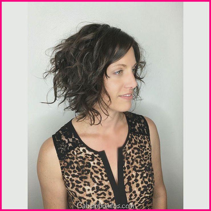 50 cortes de cabelo brilhantes para cabelos cacheados que vai mantê-lo saudável e sexy