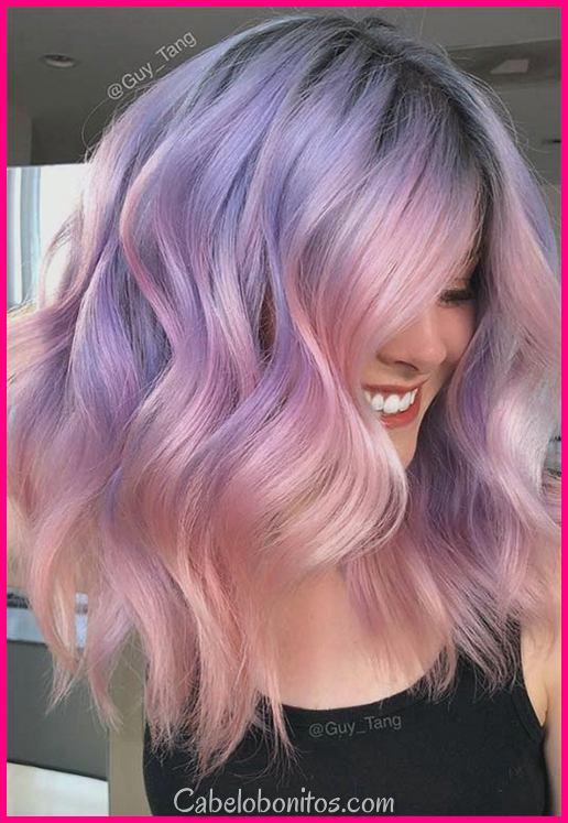 Tendência de cabelo madrepérola: 53 cores de cabelo pérola iridescente para tingir