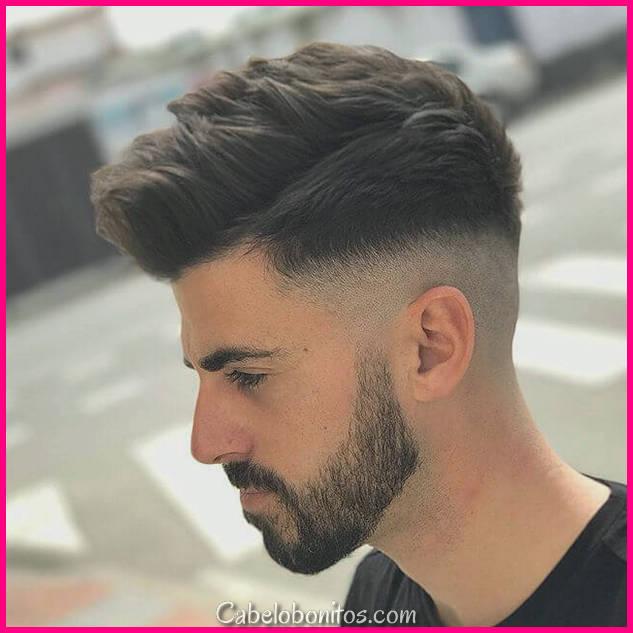 50 Trendy undercut cabelo idéias para homens para testar