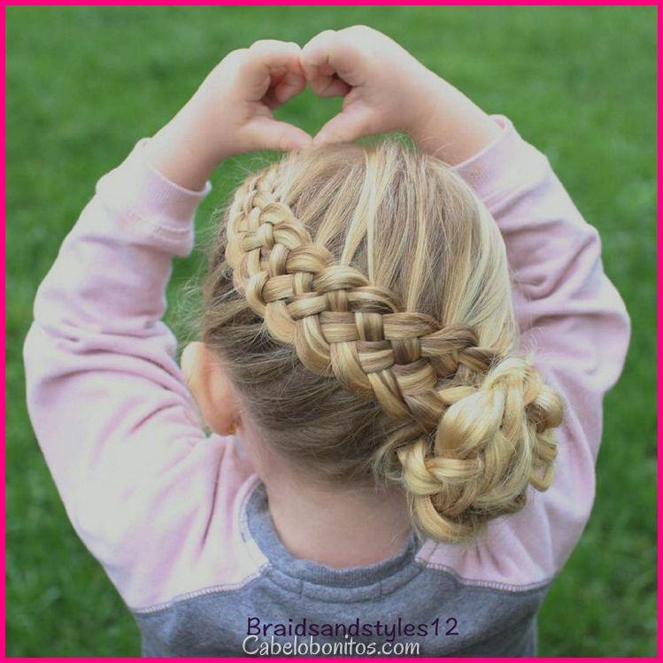 Penteado de rapariga para a primavera eo verão: 30 + idéias para looks bonitos e adoráveis!
