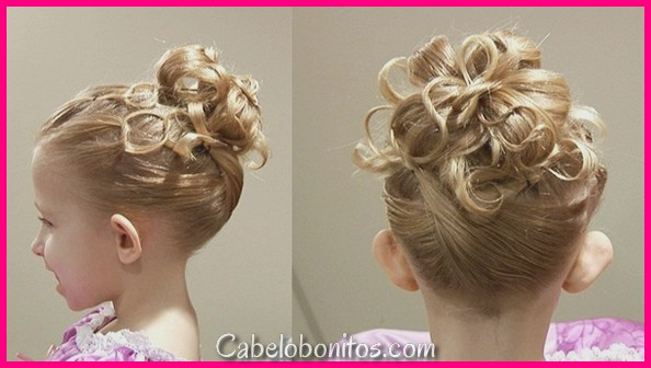47 penteados super fofo para meninas com fotos