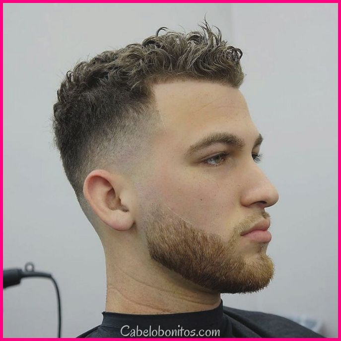 25 Mens Hairstyle para cabelo encaracolado para olhar hipnotizante