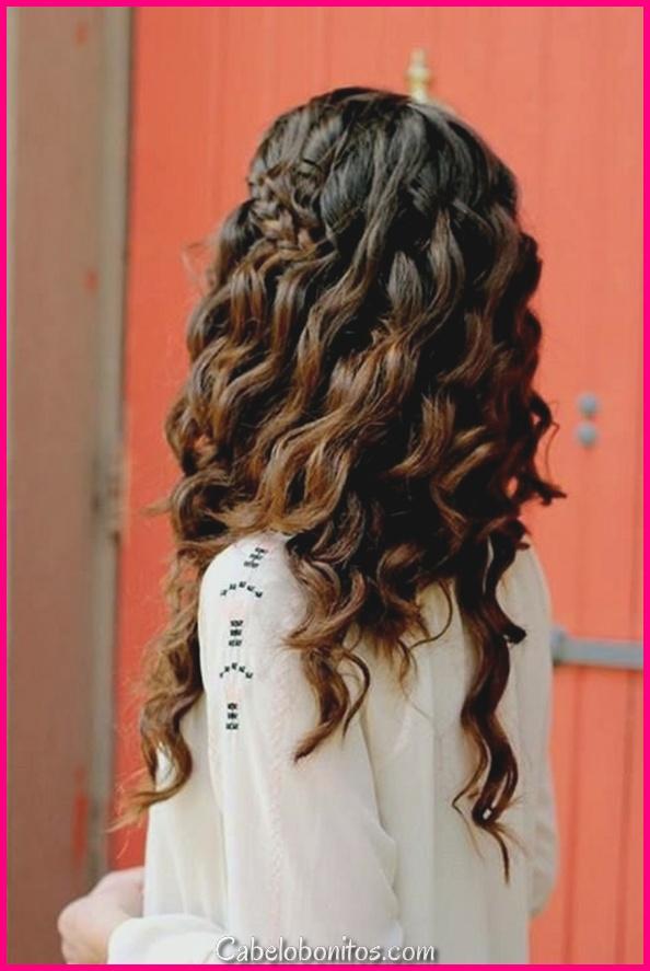 45 penteados de cabelo encaracolado para mulheres apaixonadas pela sofisticação