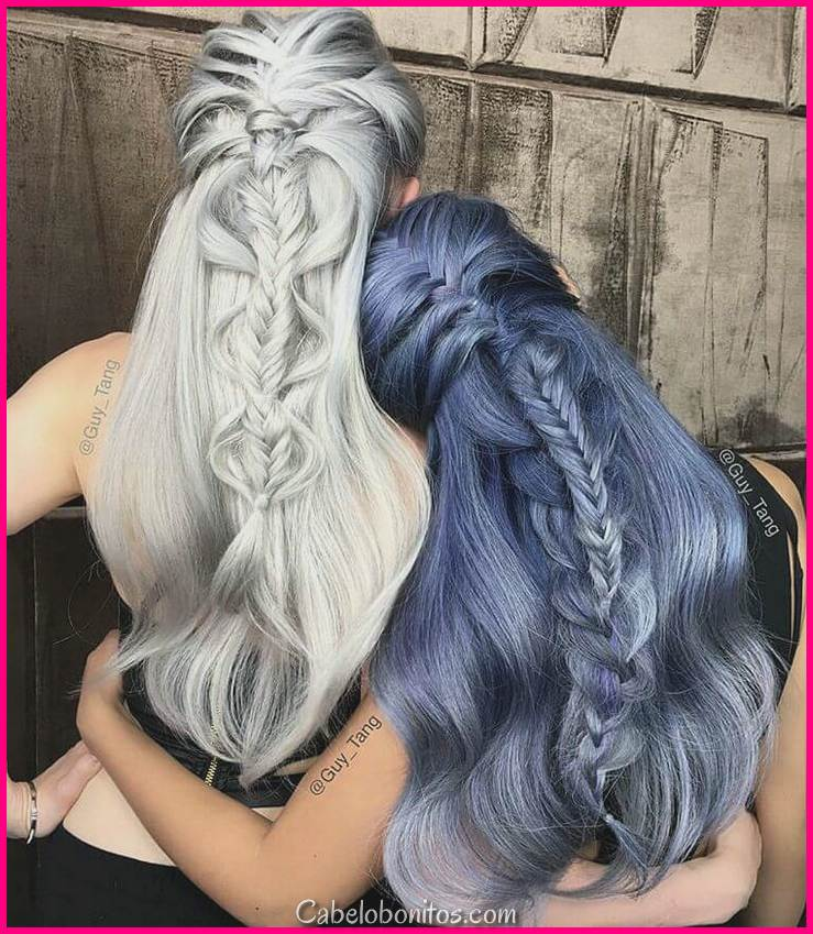 50 idéias divertidas de cabelo azul para se tornar mais aventureiro com seu cabelo