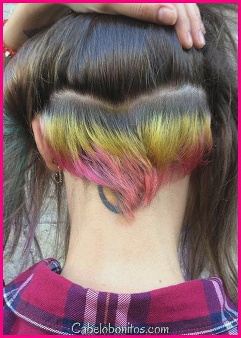 51 Long Undercut penteados para mulheres e uma maneira de DIY para soltar o cabelo