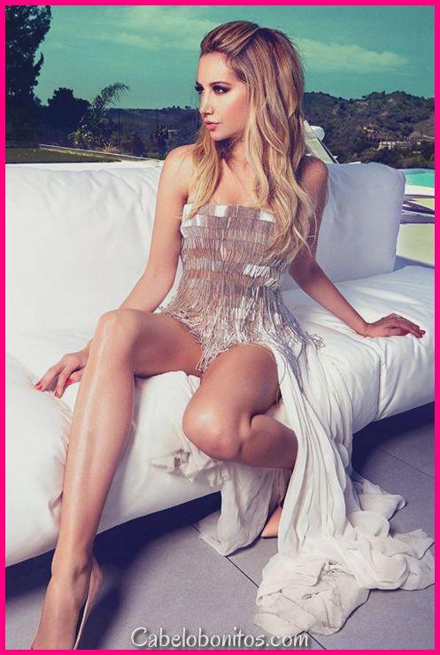 Penteados Ashley Tisdale que valem a pena notar - 45 Fotos