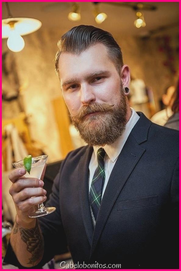 """45 estilos de barba permitido para homens para ser o """"Deus da masculinidade"""""""