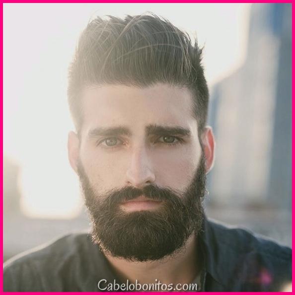 45 Cool penteados curtos e cortes de cabelo para homens