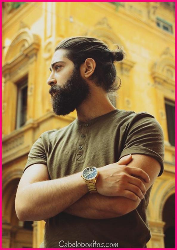 40 estilos de barba genuína para homens de rosto rotundo