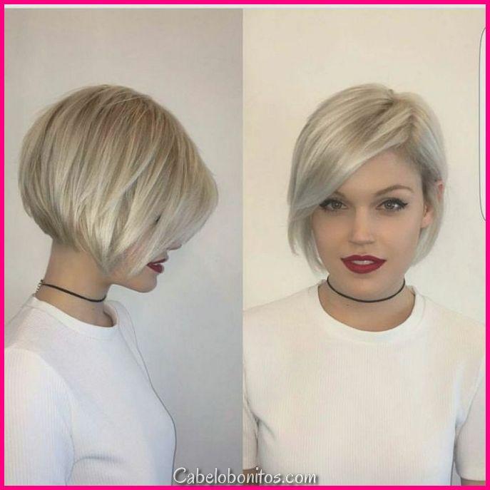 30 cortes de cabelo curtos de Bob para mulheres glamourosas