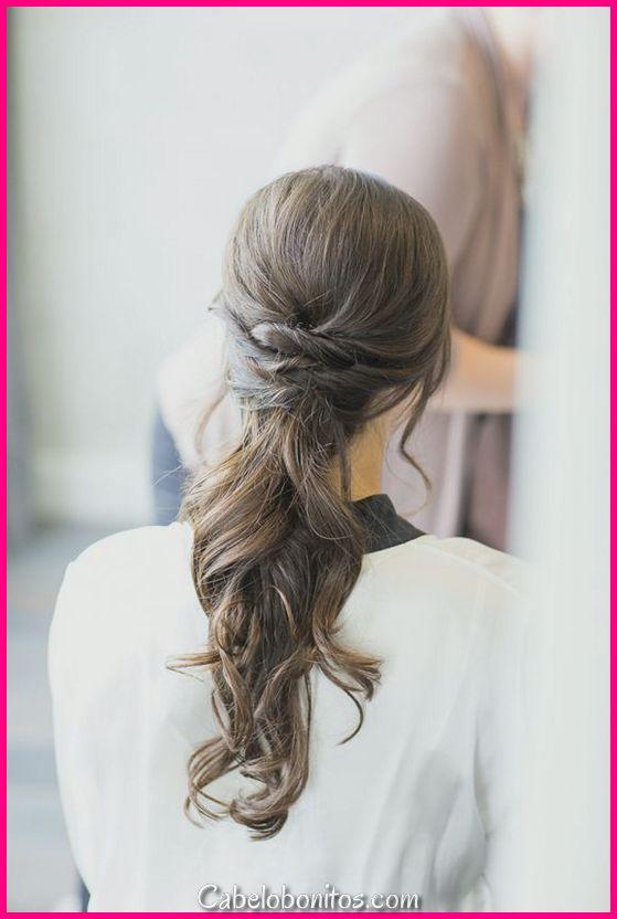 30 penteados elegantes e bonitos para mulheres