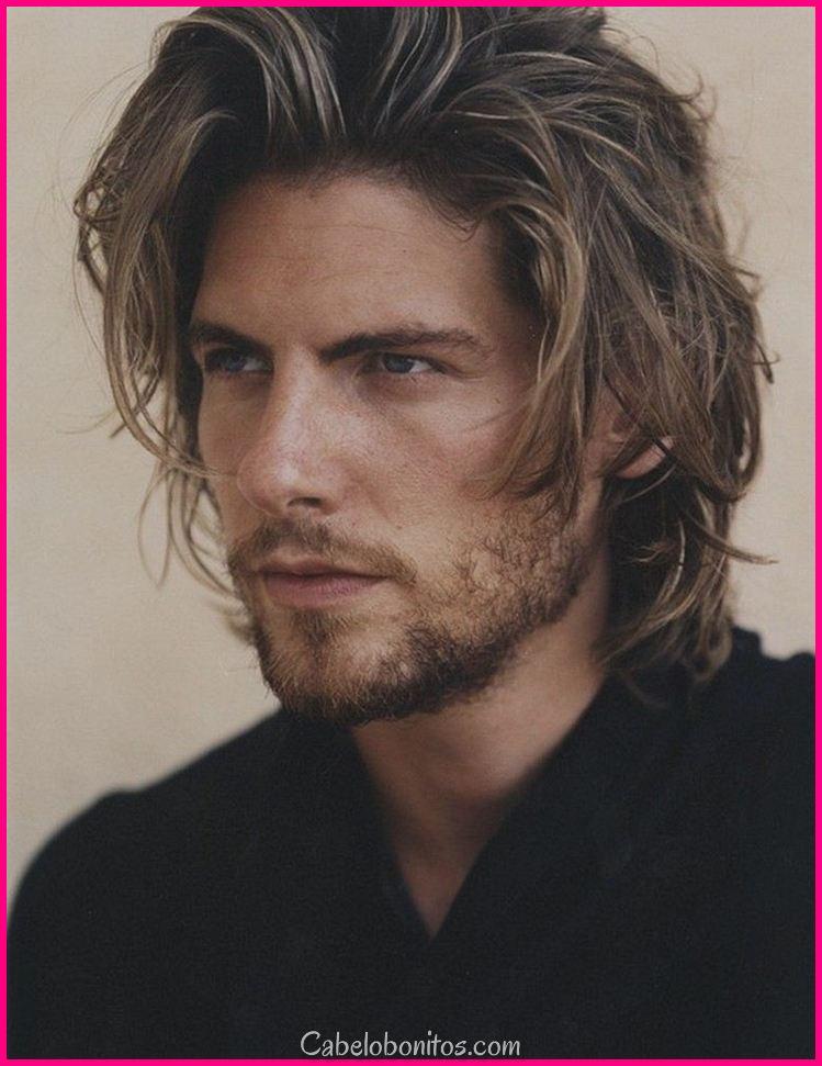Homem de cabelo longo: ideias para cortes e dicas para um visual elegante e sexy