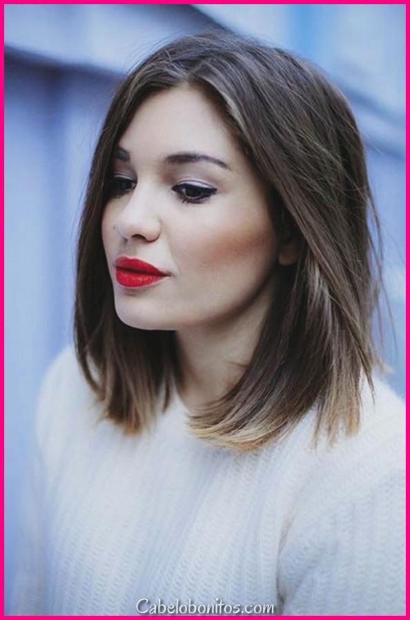 40 penteados fáceis do comprimento do ombro para mulheres em 2018