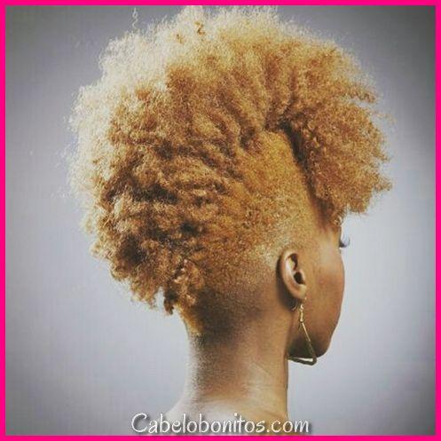 Penteados Mohawk mais impressionantes para as mulheres negras