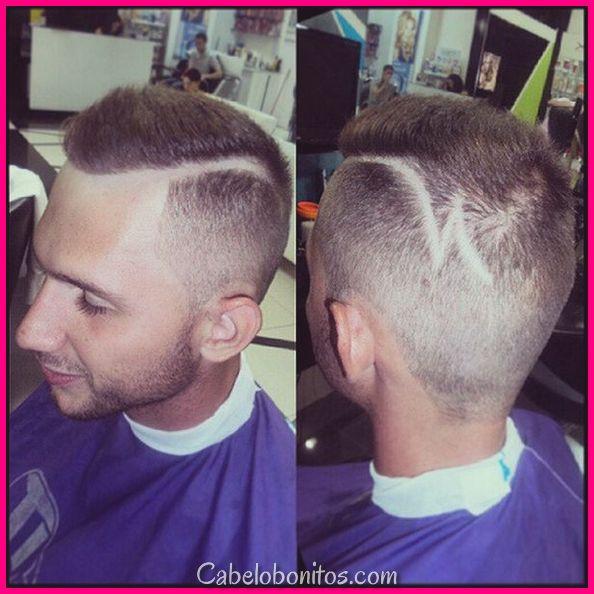 Cortes de cabelo da segmento lateral para que os homens soprem sua mente supra