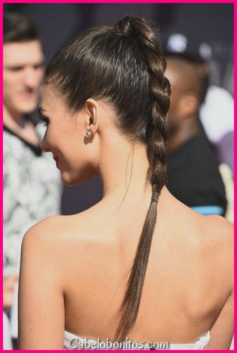 31 bonitos e elegantes penteados trançados para mulheres