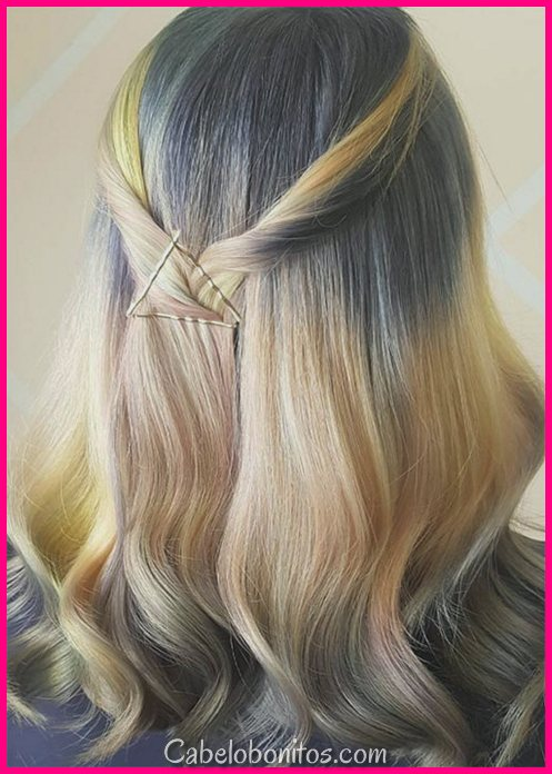 41 Criativos expostos penteados de Bobby Pin: Como usar Bobby Pins