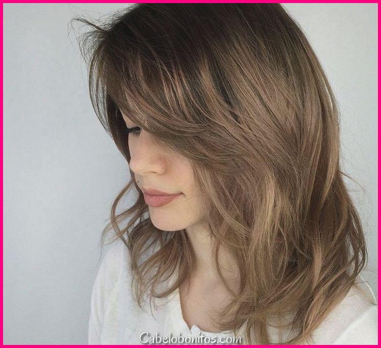 Corte de cabelo em gradiente ou camadas: 20 parece ser adotado leste ano