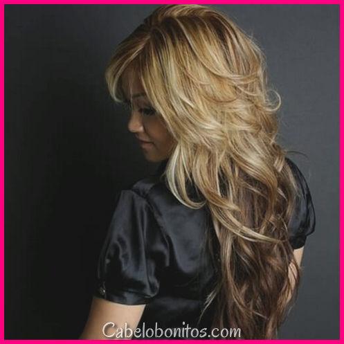50 cortes de cabelo curtos em camadas