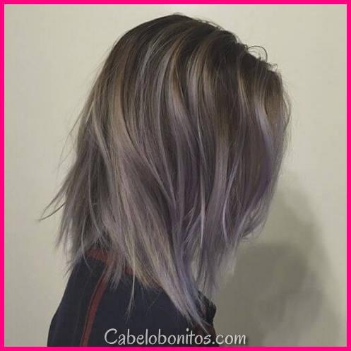 50 Destaques Fab para cabelos castanhos escuros