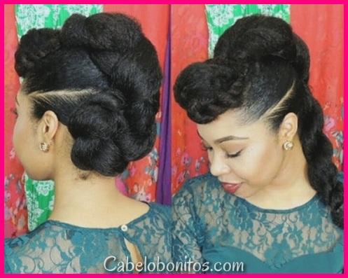 50 penteados cativantes e práticos de torção plana