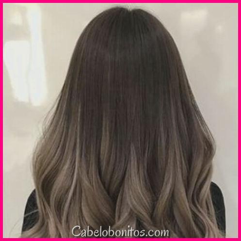 45 ideias criativas de cabelos castanhos Ombre