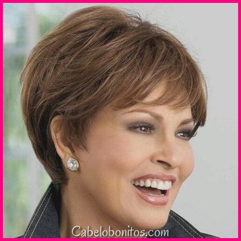 50 Penteados Fenomenais Para Mulheres Supra De 50 Anos
